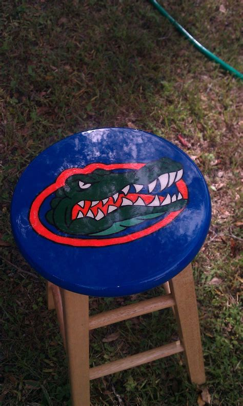 Florida Gator Bar Stools by 65 Best Painted Bar Stools By Me Images On