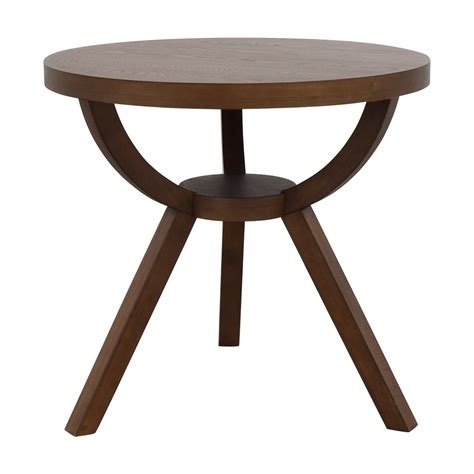 west elm round table shop west elm wood table quality used furniture