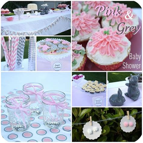 Pink And Gray Baby Shower Ideas by Pink And Gray Baby Shower Ideas Ideas