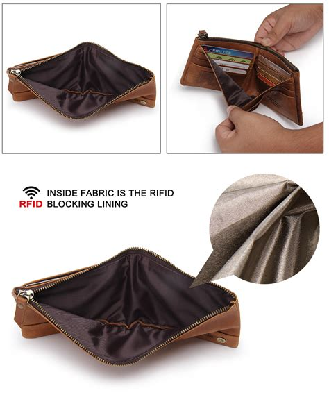 Dompet Pria Bogesi Leather S Wallet Coffee Brown contact s dompet pria anti theft rfid block wallet coffee jakartanotebook