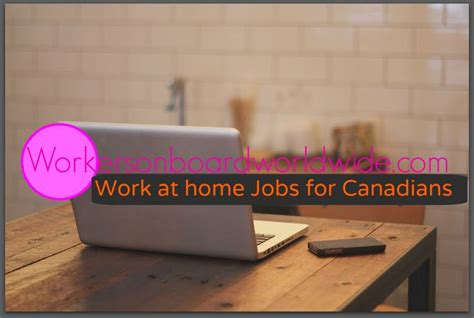 Canada Online Jobs Work From Home - best 25 work from home canada ideas on pinterest maternity leave canada online