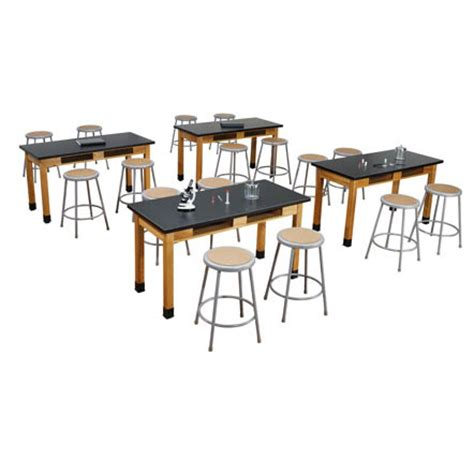 Science Tables And Stools by Nps Slt3060 2 6218 10 One Acid Resistant Science Lab Table