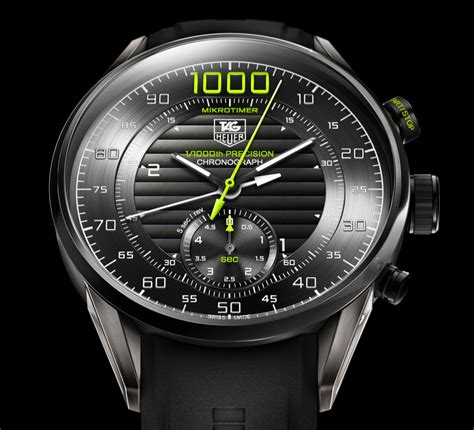 Tag Heuer Mikrotimer tag heuer mikrotimer flying 1000 concept chronograph sets a new milestone in mechanical