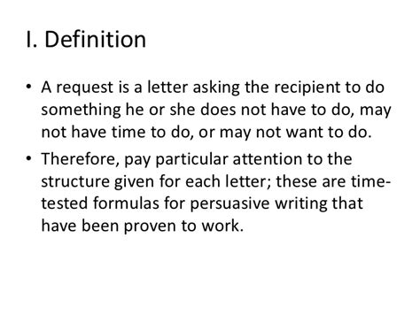 Request Letter Meaning In Letter Of Request