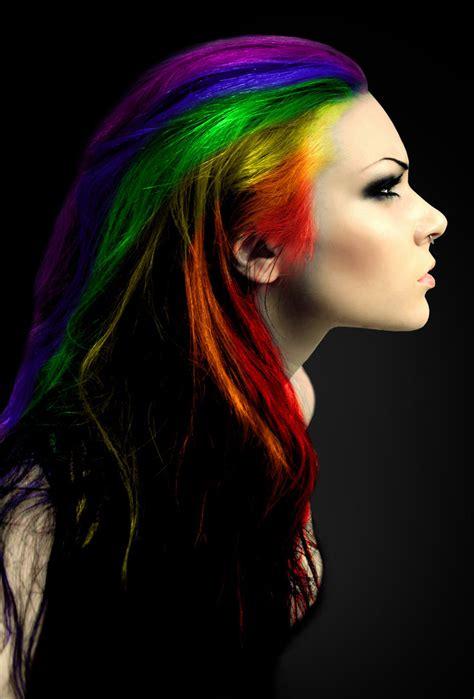 rainbow hair color with rainbow hair ign boards