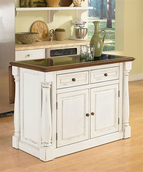 expandable kitchen island another great find on zulily antiqued white monarch