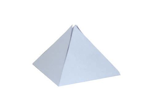A Paper Pyramid - paper pyramid free photo files 1422935 freeimages
