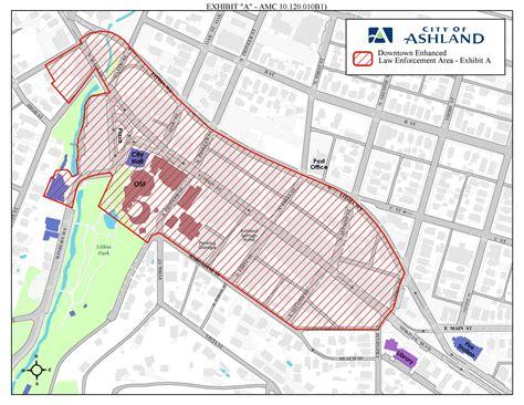 where is ashland oregon on a map city of ashland oregon municipal code image