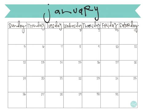 printable calendars com january 2017 calendar cute weekly calendar template