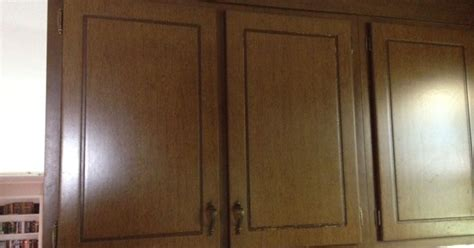 70s cabinets old 70s quot wood quot cabinets need makeover hometalk