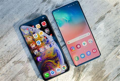samsung galaxy    iphone xs max spec