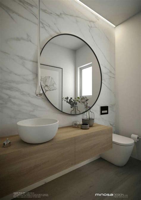 Modern Bathrooms Australia by Ba 241 O Minimalista Madera Marmol Y Blanco Negro Bathroom