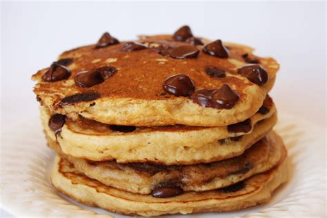 chocolate chip pancakes recipe dishmaps