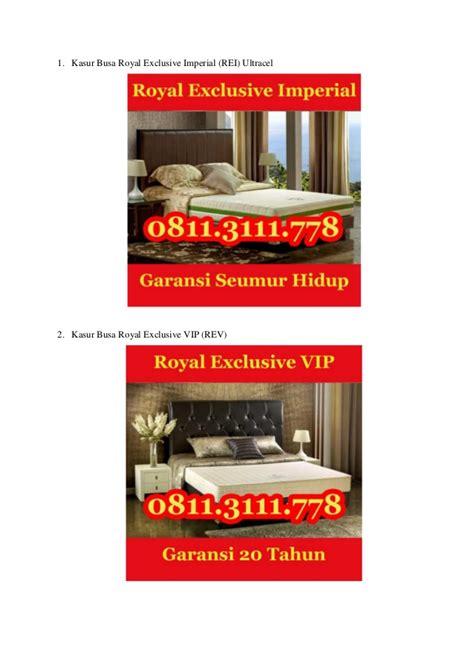 Kasur Busa Kota Malang kasur busa royal exclusive 0811 311 1105