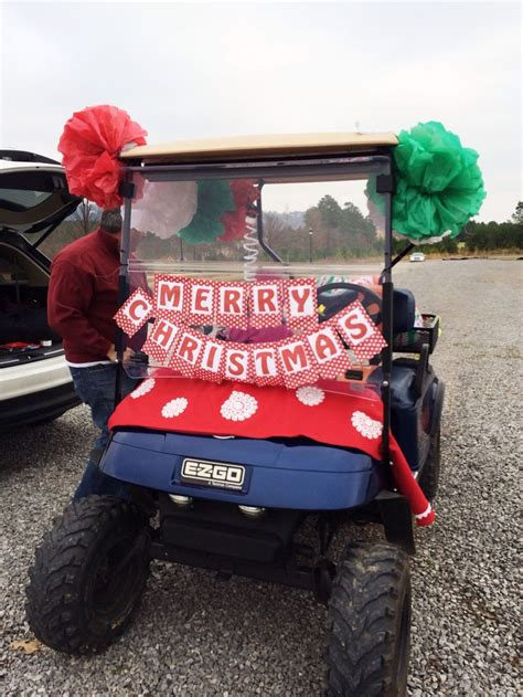 christmas themes for golf 10 best images about christmas golf cart on pinterest