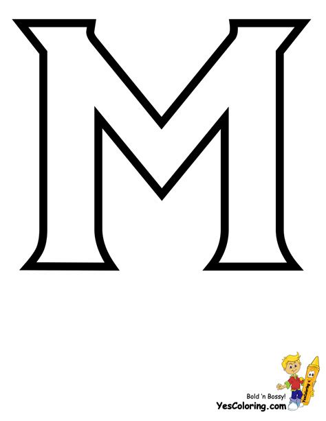 bubble letter template printable white color with black outline