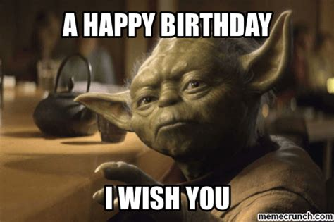 Star Wars Birthday Meme - the 50 best funny happy birthday memes images