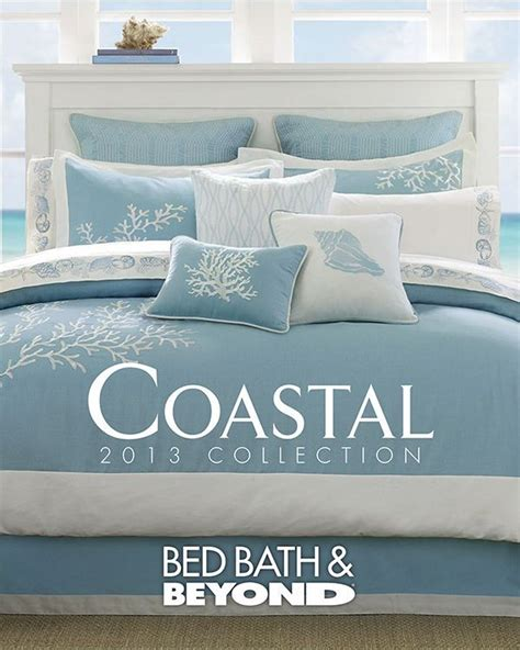 coastal collection bedding bed bath beyond 2013 coastal collection is creative