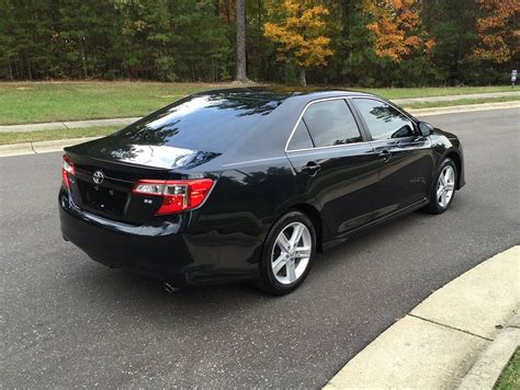 2013 Toyota Camry Mpg 2013 Toyota Camry Se Touch Screen Bluetooth Low Mileage