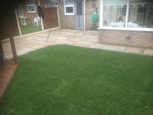 j and l landscaping sandstone patio and turfing j l landscapes