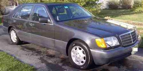 how cars engines work 1993 mercedes benz 400sel lane departure warning buy used 1993 mercedes benz 400sel 240000 miles good condition in hackettstown new jersey