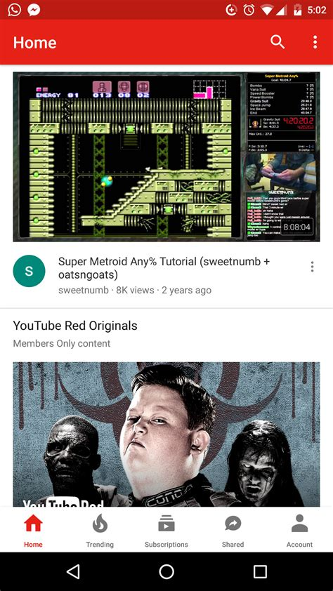 youtube layout android youtube testing seek bar preview and bottom bar ui on android