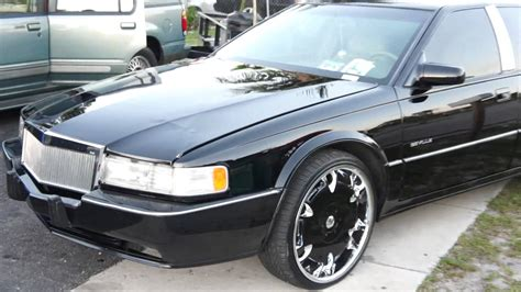 where do sts go cadillac sts on dem 22 quot rims all black everythang