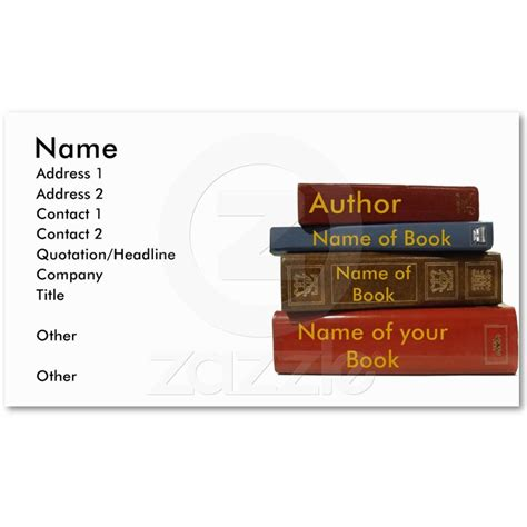 author trading card template 14 best images about author promotional items on