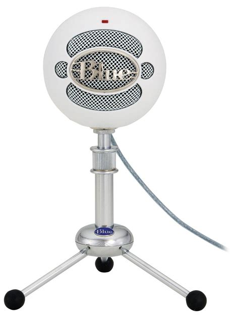 Usb Microphone blue snowball usb microphone textured white