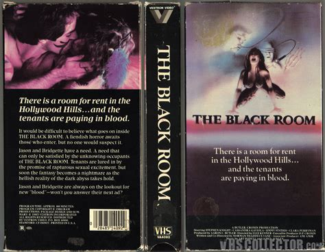 the black room the black room vhscollector your analog videotape archive