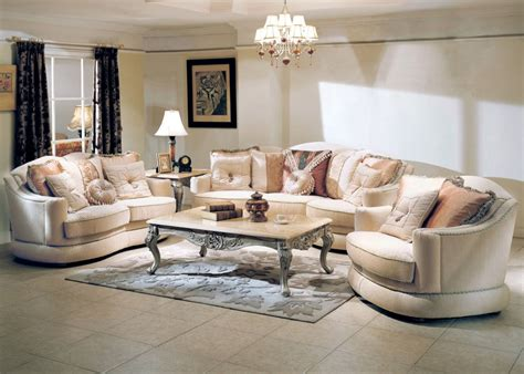 Living Room Furnitures by Titleist Luxurious Formal Living Room Furniture Set
