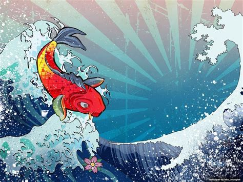 koi tattoo background koi fish backgrounds wallpaper cave