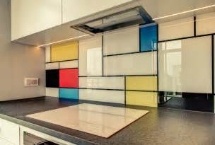 Kitchen Backsplash Panels backsplash glass panels in the kitchen interior design