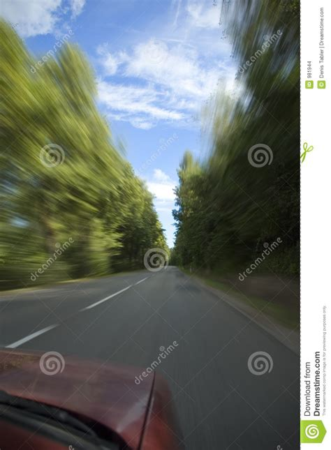 Car Going Fast