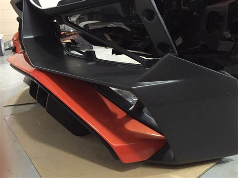 Oem Lamborghini Murcielago Gtr lp750 4 sv aero conversion kit 2011 2016 lamborghini