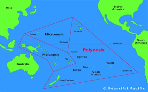 map of polynesia polynesia islands travel information beautiful pacific