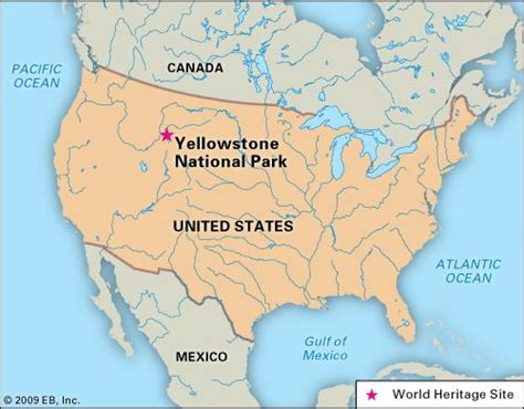 map usa yellowstone park yellowstone national park national park united states