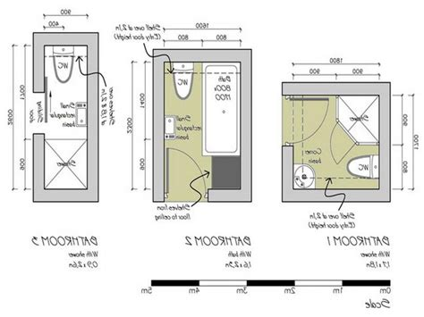 bathroom design dimensions bathroom small plan plans narrow layout plants shower only