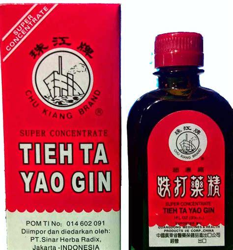 Obat Tieh Ta Yao Gin tieh ta yao gin