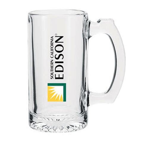 Printed Glass Mug 12 5 oz printed glass mugs glass mugs glassware