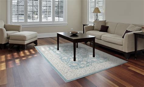 home dynamix area rugs antiqua rug 8458 725 light blue