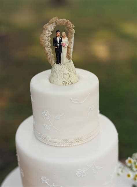 Wedding Cake Figures With Style by Event Design Vintage Wedding Cake Toppers Evantine