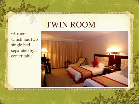 Room Definition by Types Of Hotel Rooms