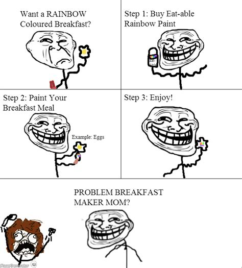 Make Meme Comic - ragegenerator rage comic breakfast troll science