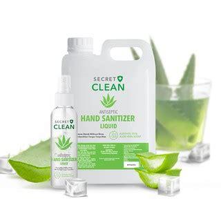 secret clean antiseptic hand sanitizer liquid  shopee indonesia
