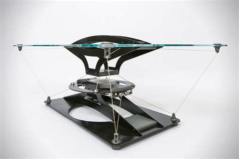 Futuristic Coffee Table This Futuristic Levitating Coffee Table Is Named Teles Taxidi