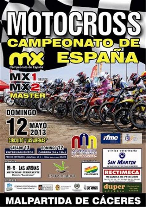 photo templates from stopdesign image info cartel mx 1013 motocross caceres jpg