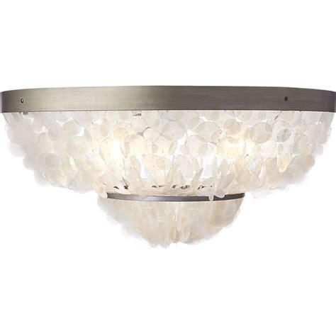capiz flush mount light 25 best images about lighting fixtures on