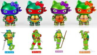 tmnt colors and names hello x mutant turtles mashup toys
