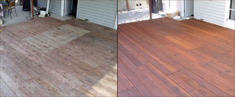 deck fence staining  kansas city commercial